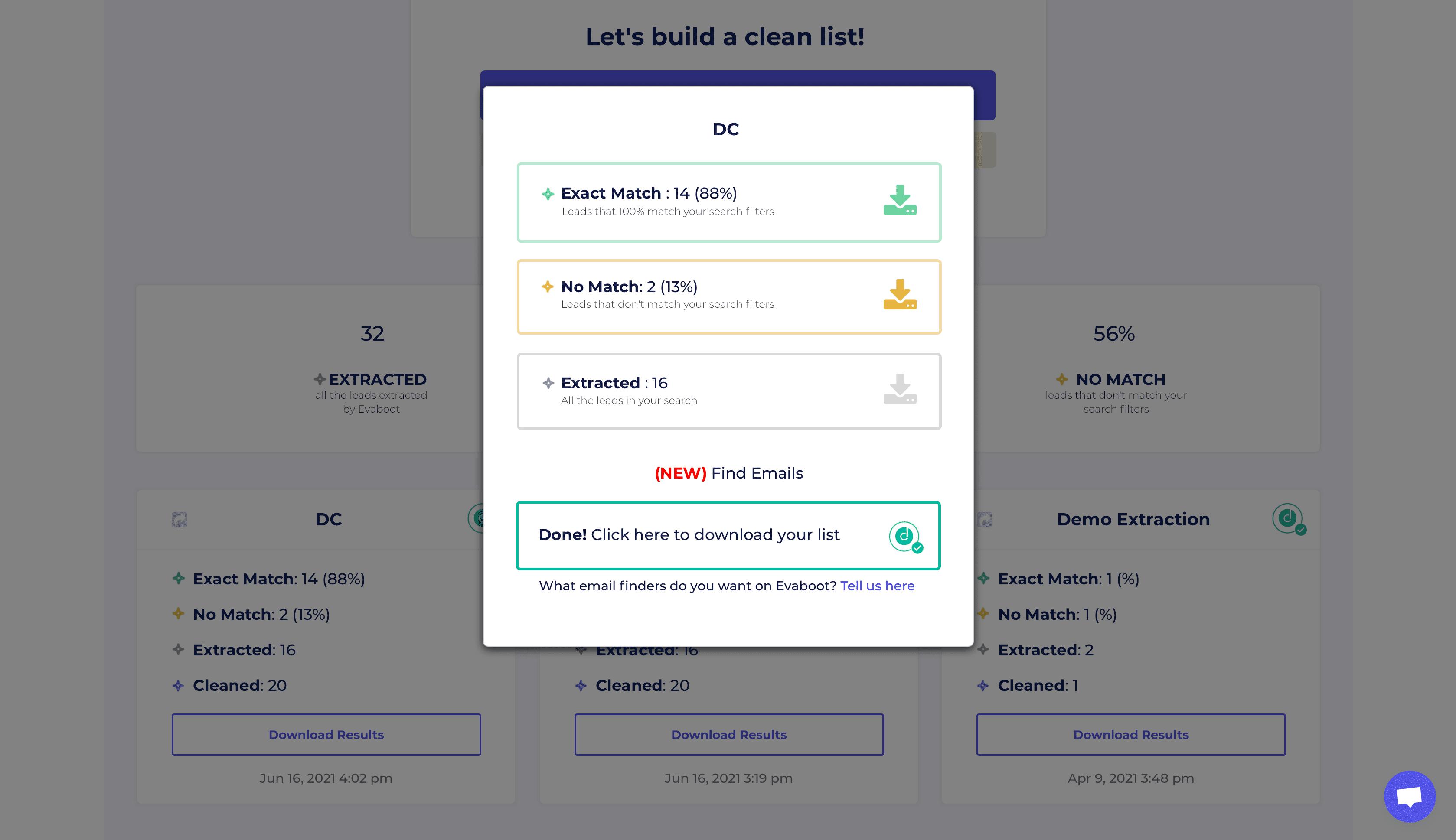 Evaboot - Scraping Linkedin simple et efficace
