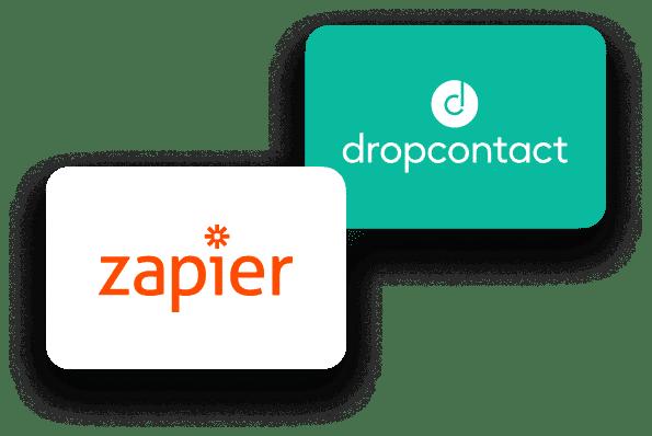 Dropcontact s'intègre à des centaines d'applications grâce à Zapier