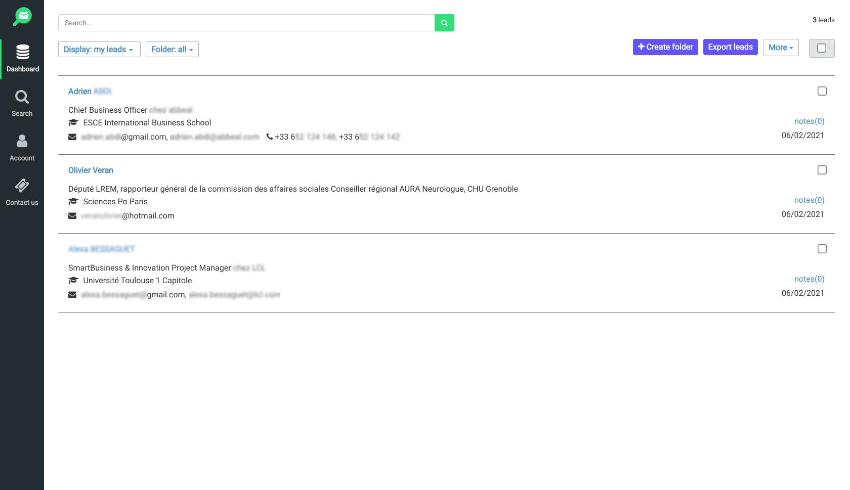 Top Meilleur email finder : ContactOut