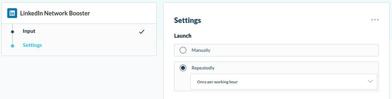 Envoyer automatiquement des invitations LinkedIn