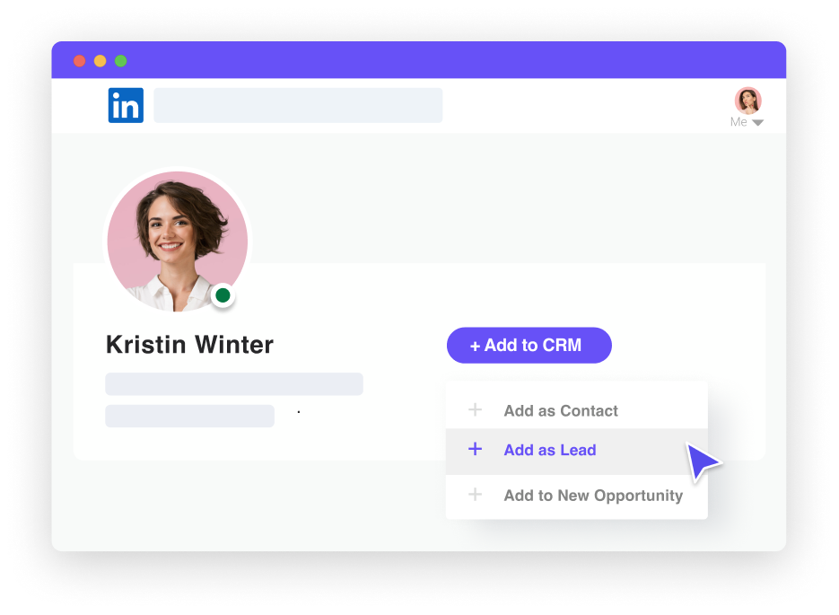 Leadjet: LinkedIn automation, LinkedIn scraping, and cut-adding in your CRM