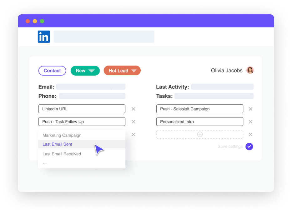 Leadjet: Automate LinkedIn multi-channel