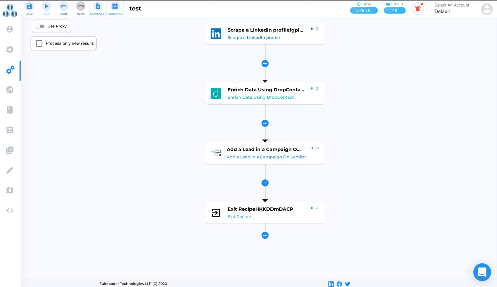 TexAu: Automate multichannel LinkedIn prospecting