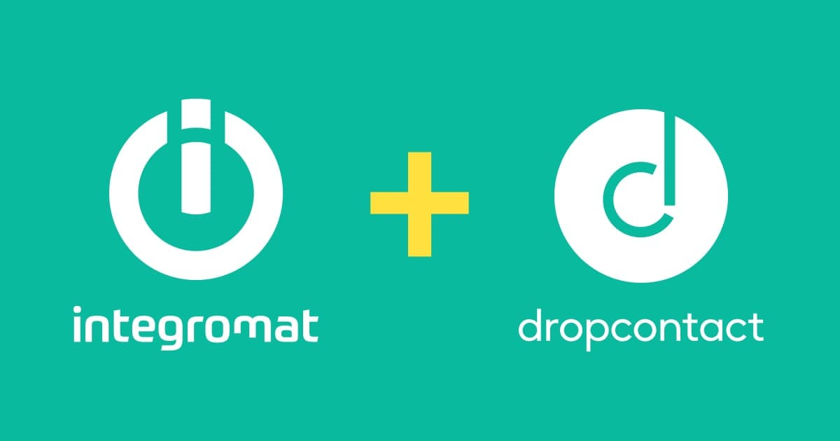 Dropcontact and Integromat - Email Enrichment Workflow