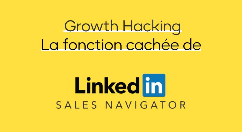 Hack Linkedin Sales Navigator pour importer ses listes d'entreprises sur LinkedIn Sales Navigator