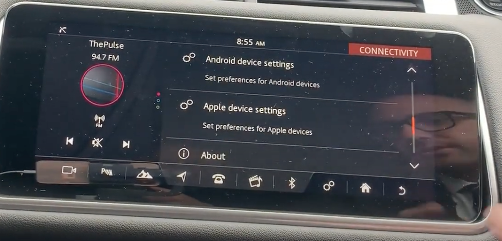 List of settings which include Android and Apple device settings