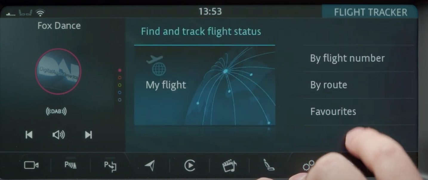 Finding and tracking flight status through flight number, by route or favorites