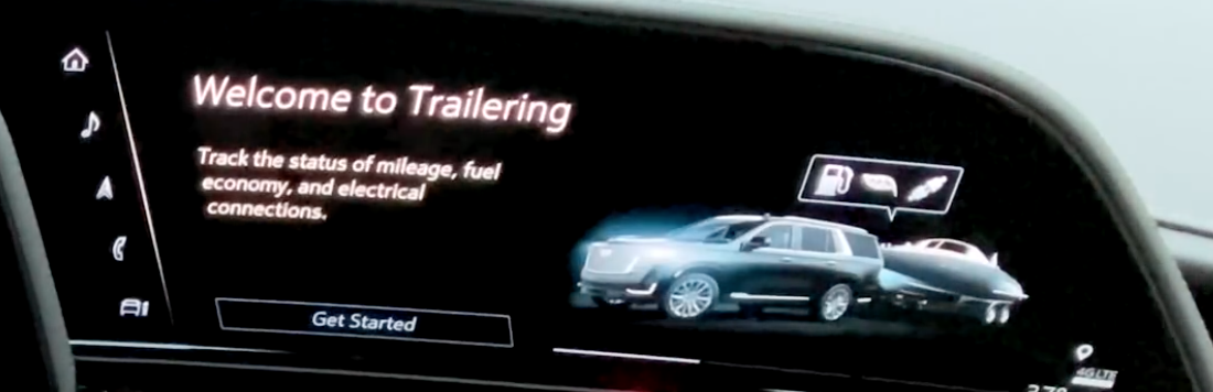 A welcome screen to trailering and guiding a user to get started