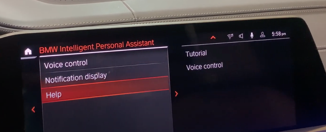 Help centre to learn about how the personal assistant can help a user