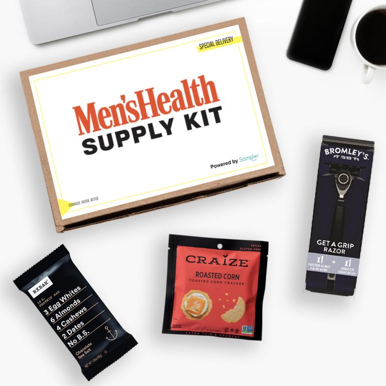 Men's Health and Sampler Supply Kit Box
