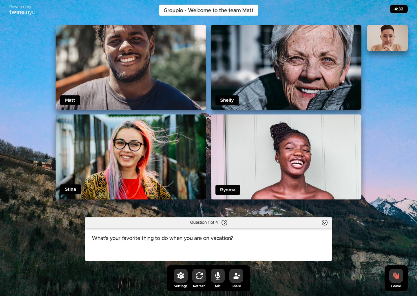 Feature Release: Big News. Small Groups.