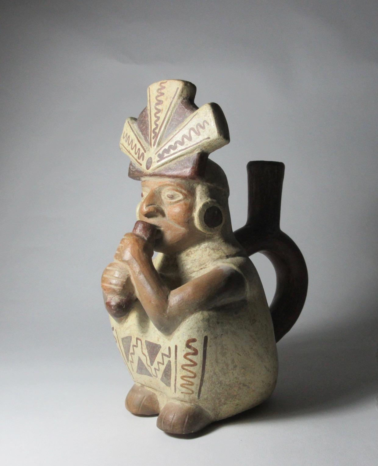 Precolumbian Stirrup Vessel