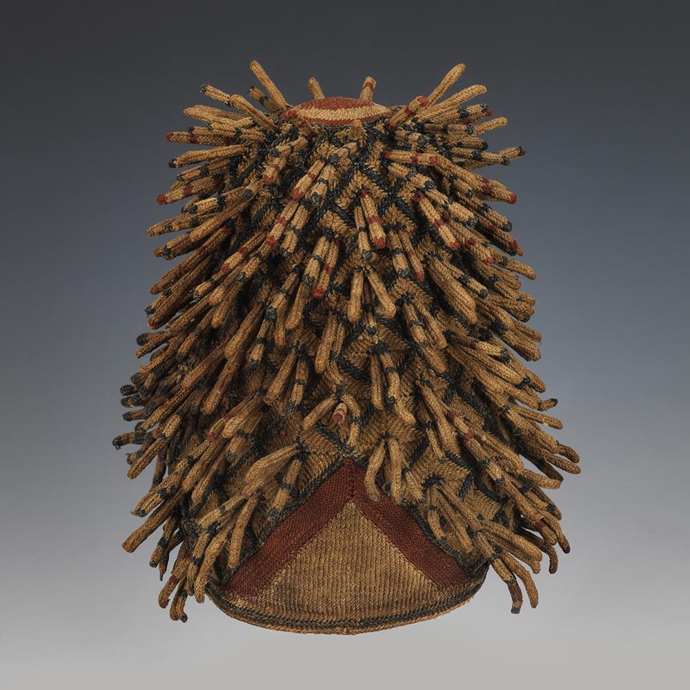 Bamileke Chief's or Titleholder's Hat