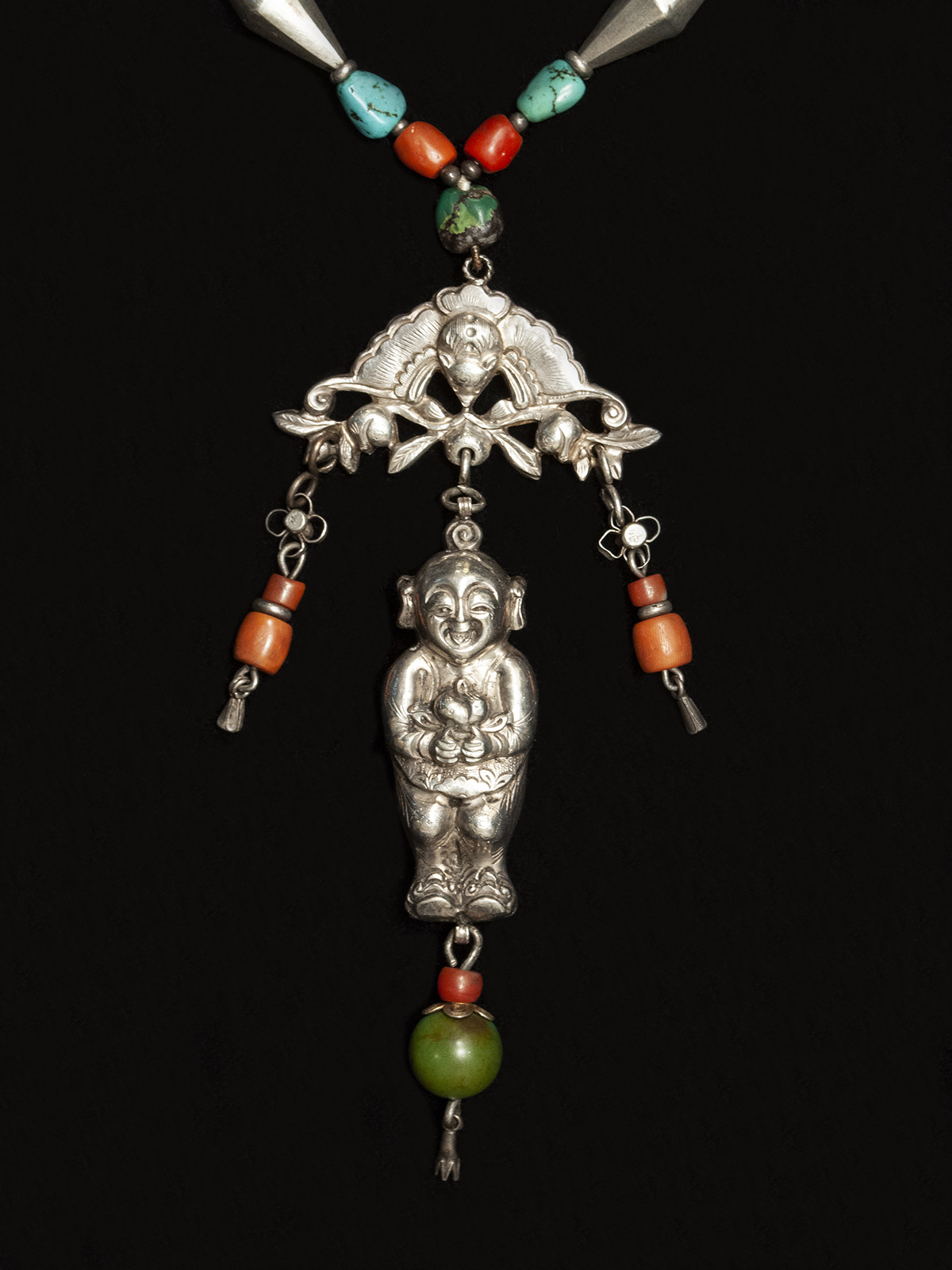 Necklace with Baby Amulet