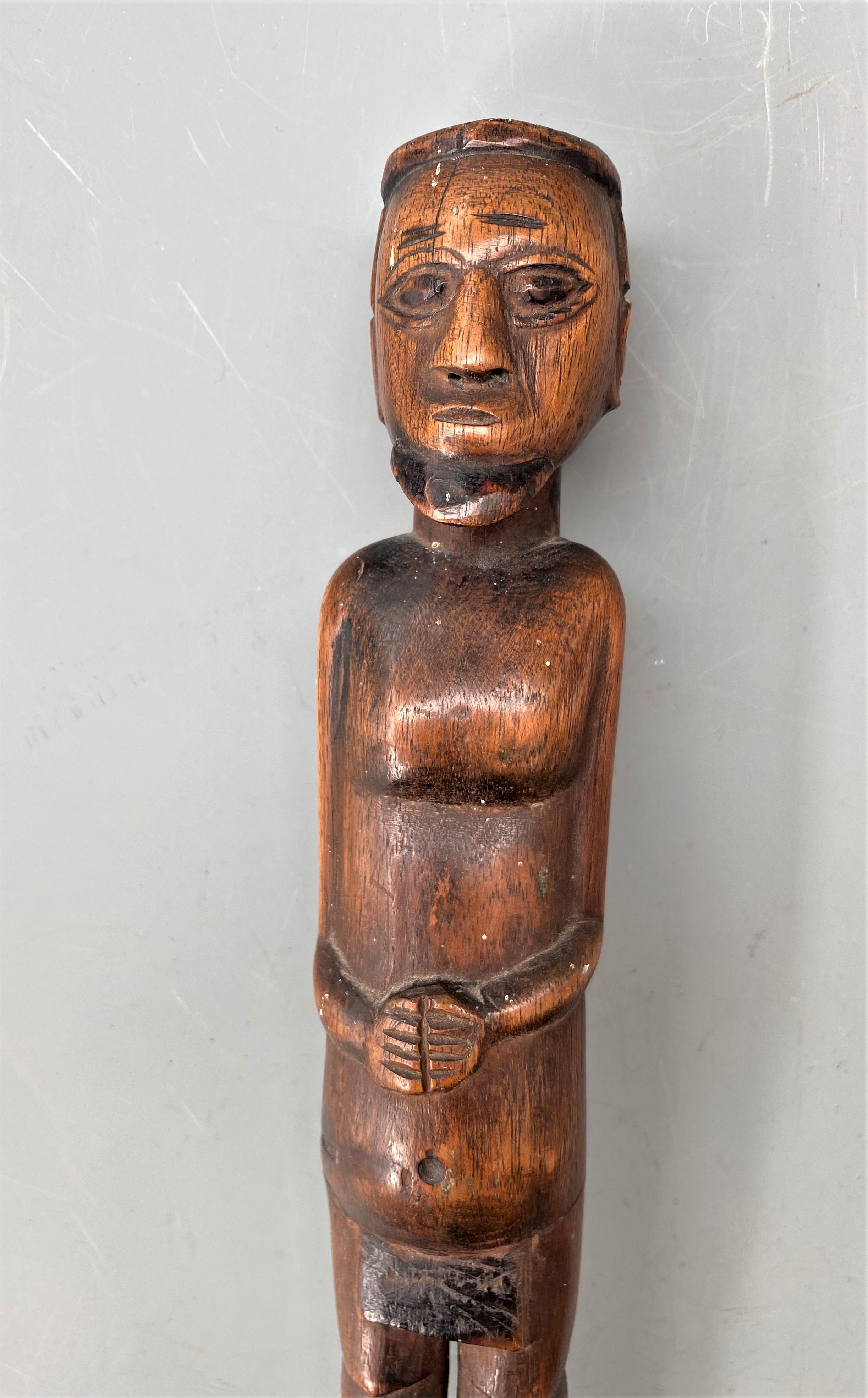 A Fine South African Tsonga/ Zulu Prestige Staff by the Baboon Master