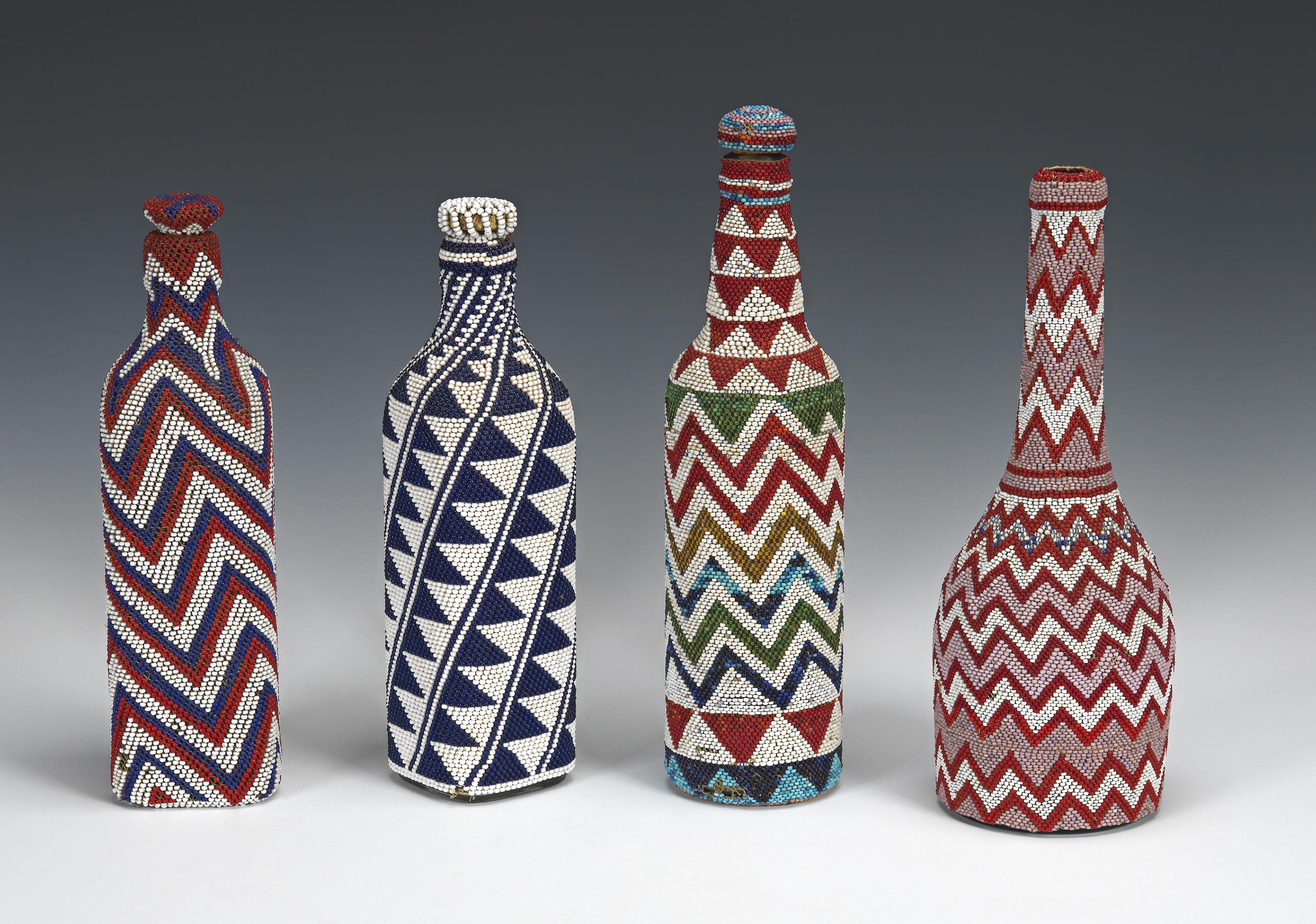 Tutsi Beaded Bottle