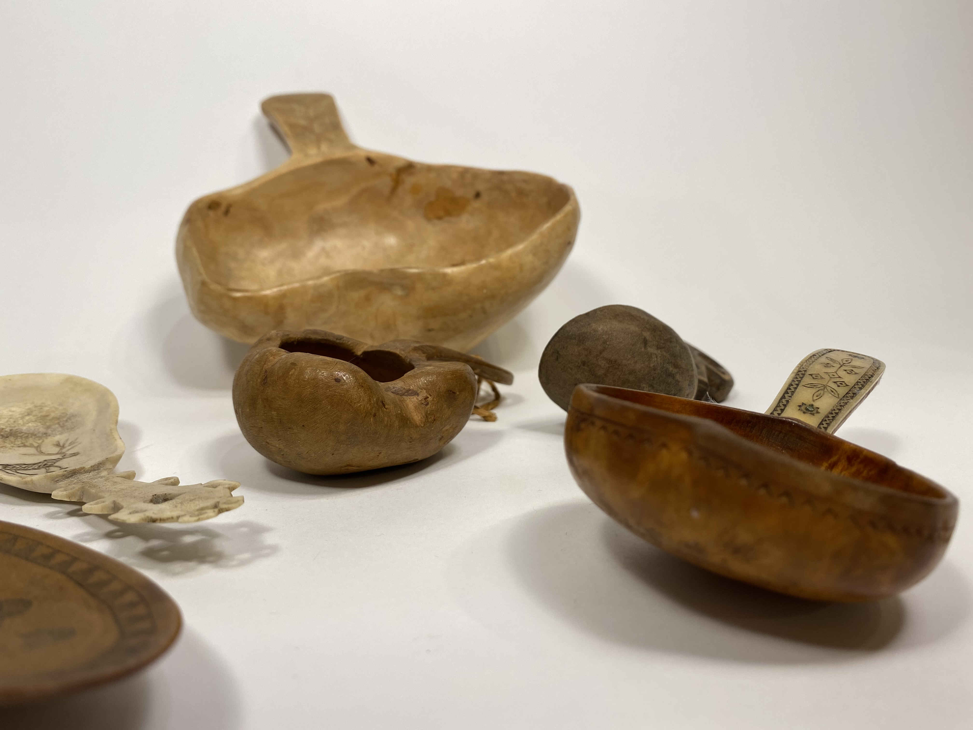 Collection of Spoons and Kuksa Cups