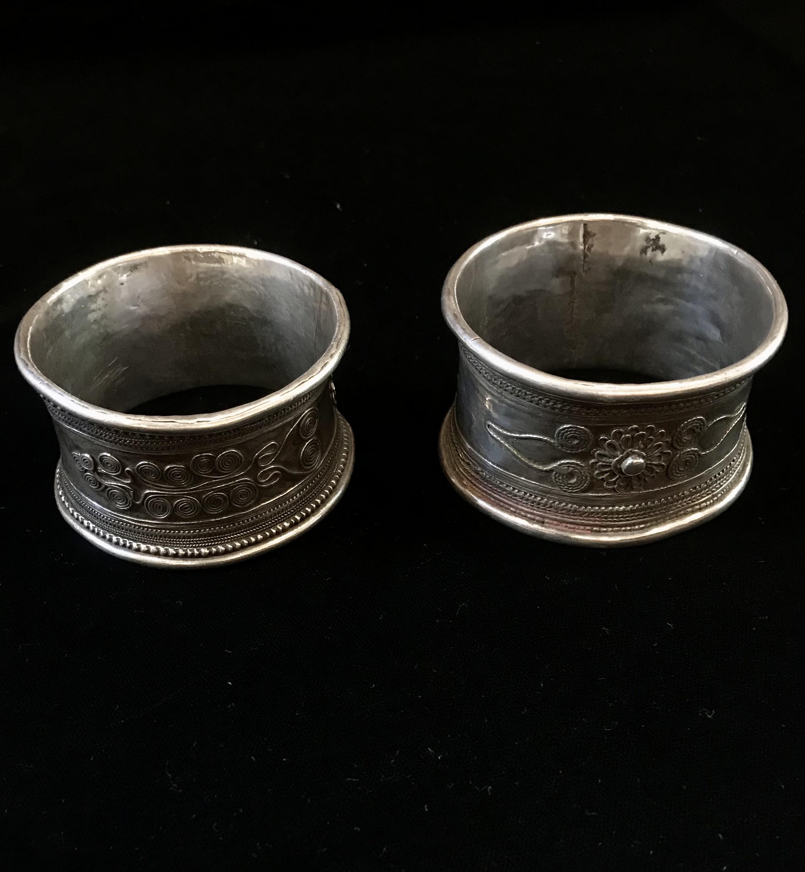 Pair of Thai bracelets