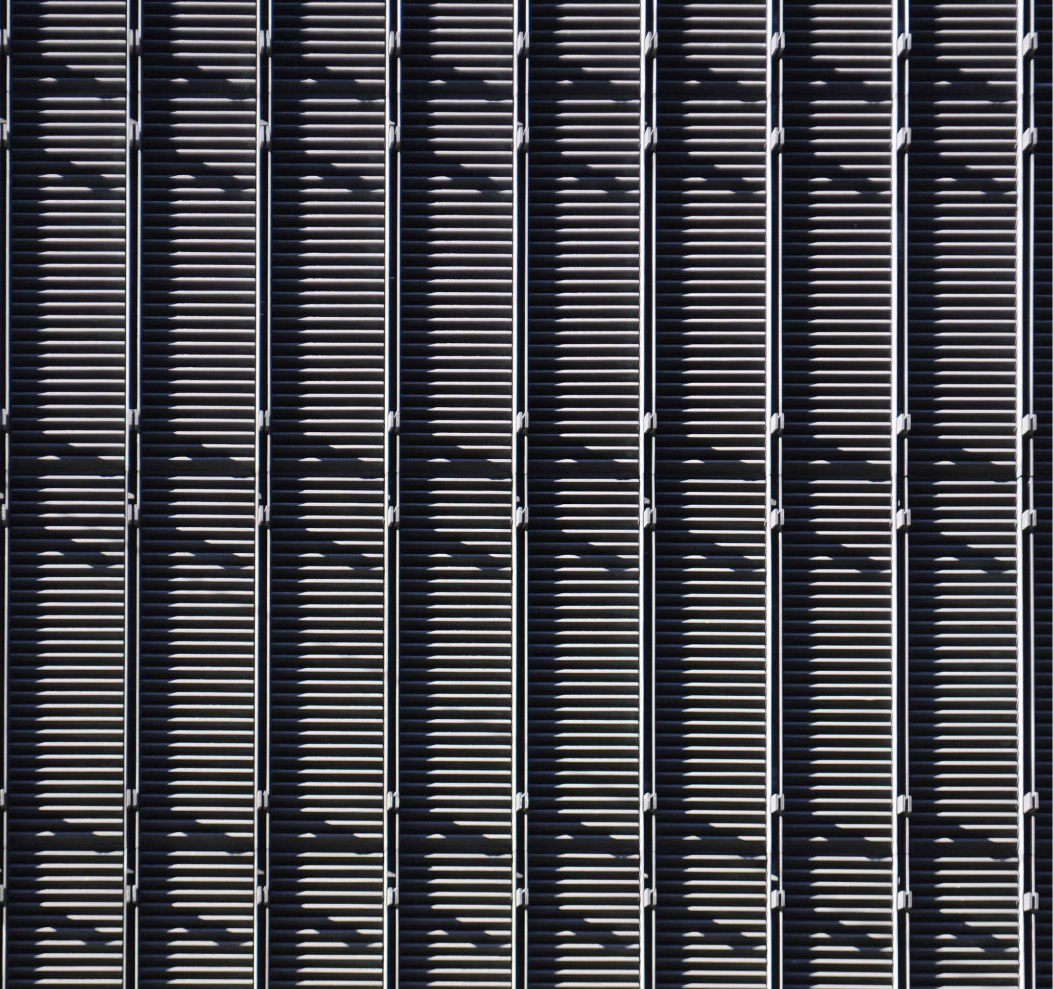 An abstract shot of the building's façade