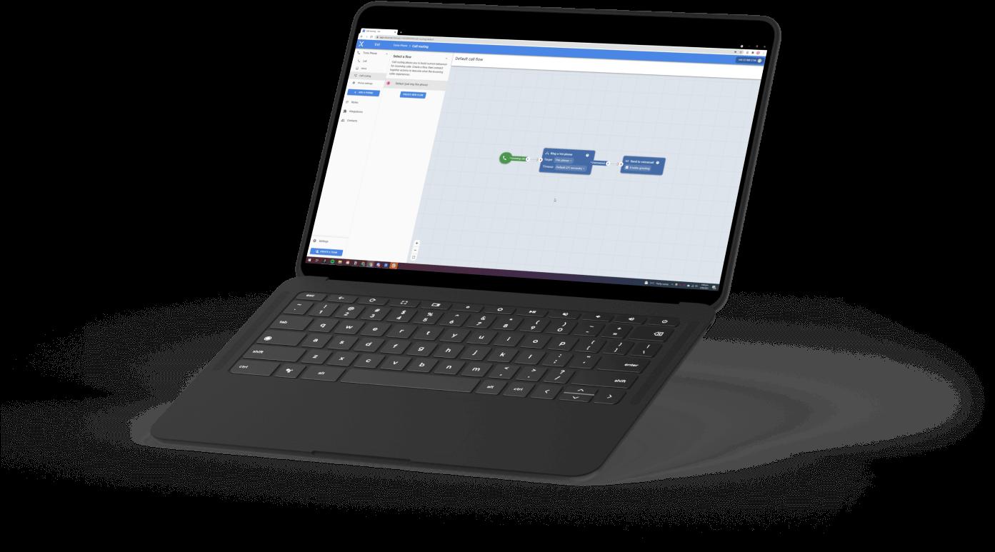 Vxt Web App on Chromebook