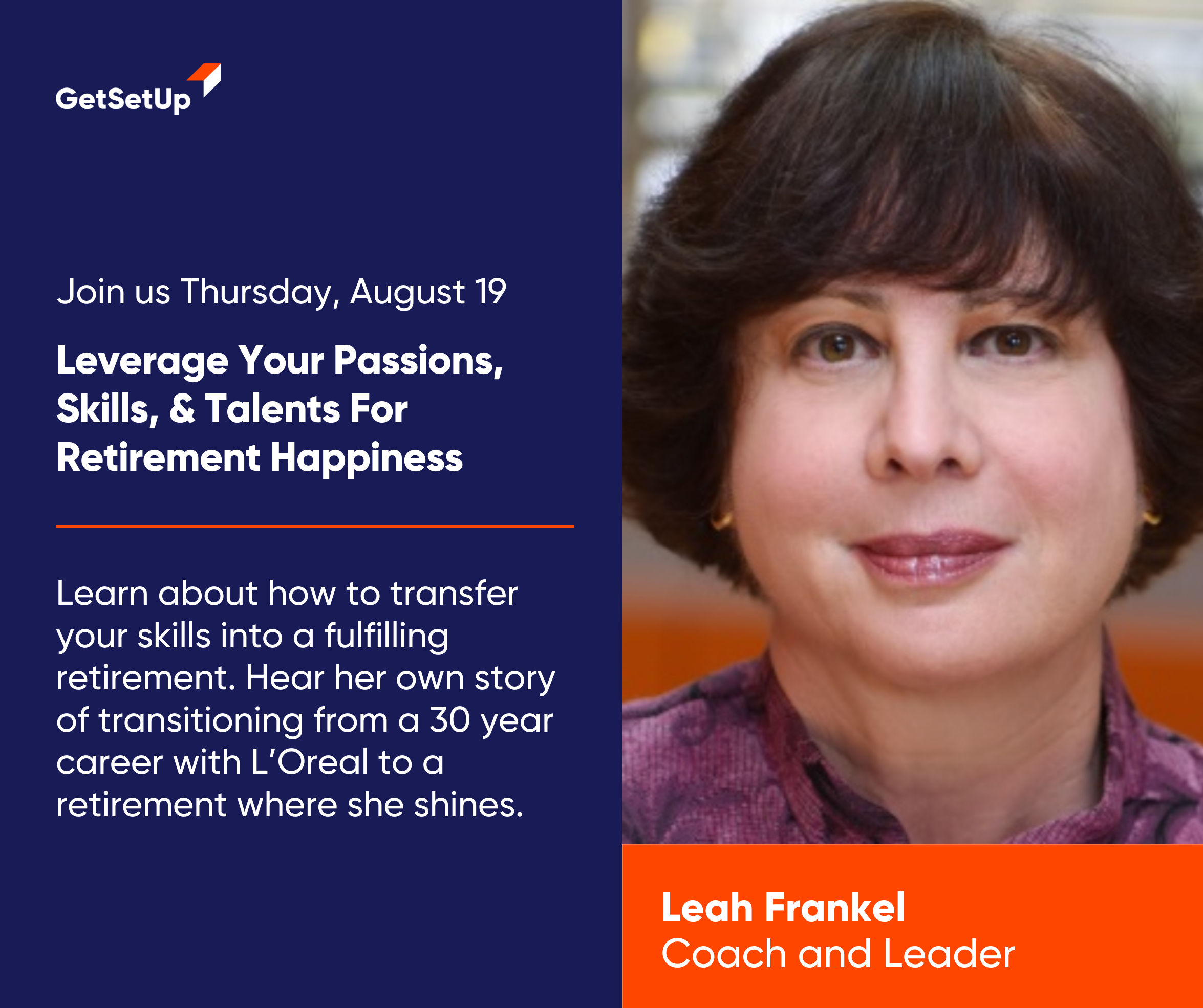 Renew, Revitalize, and Retire Happy with Leah Frankel