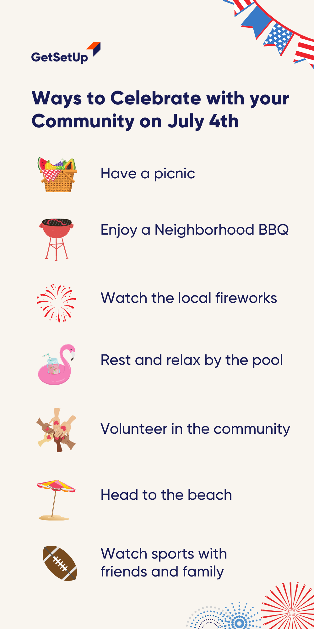 Throughout July Spend Your Time With Community Having Fun