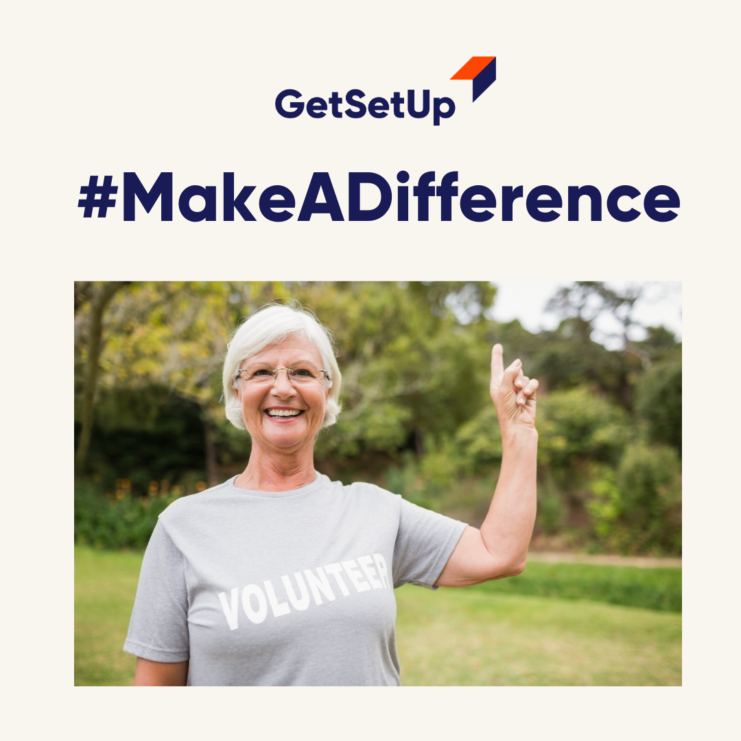 April is National Volunteer Month #MakeADifference