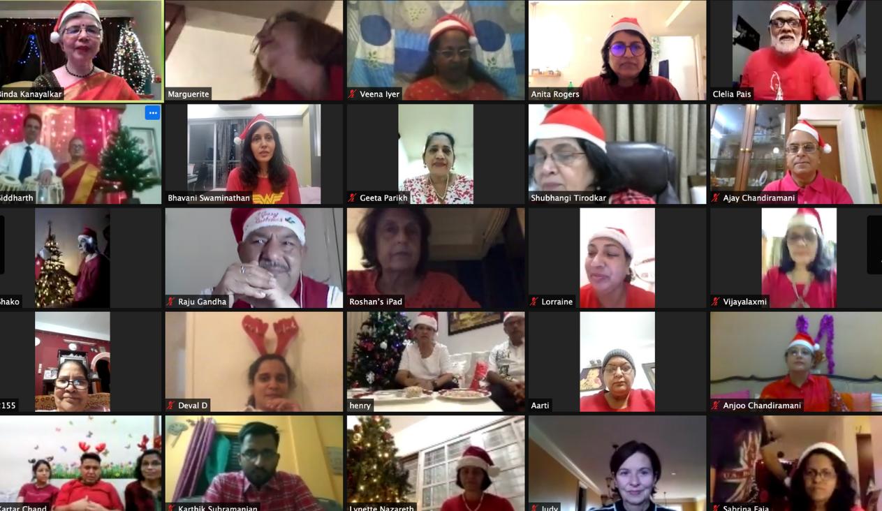 GetSetUp Shares Carols During The Holidays