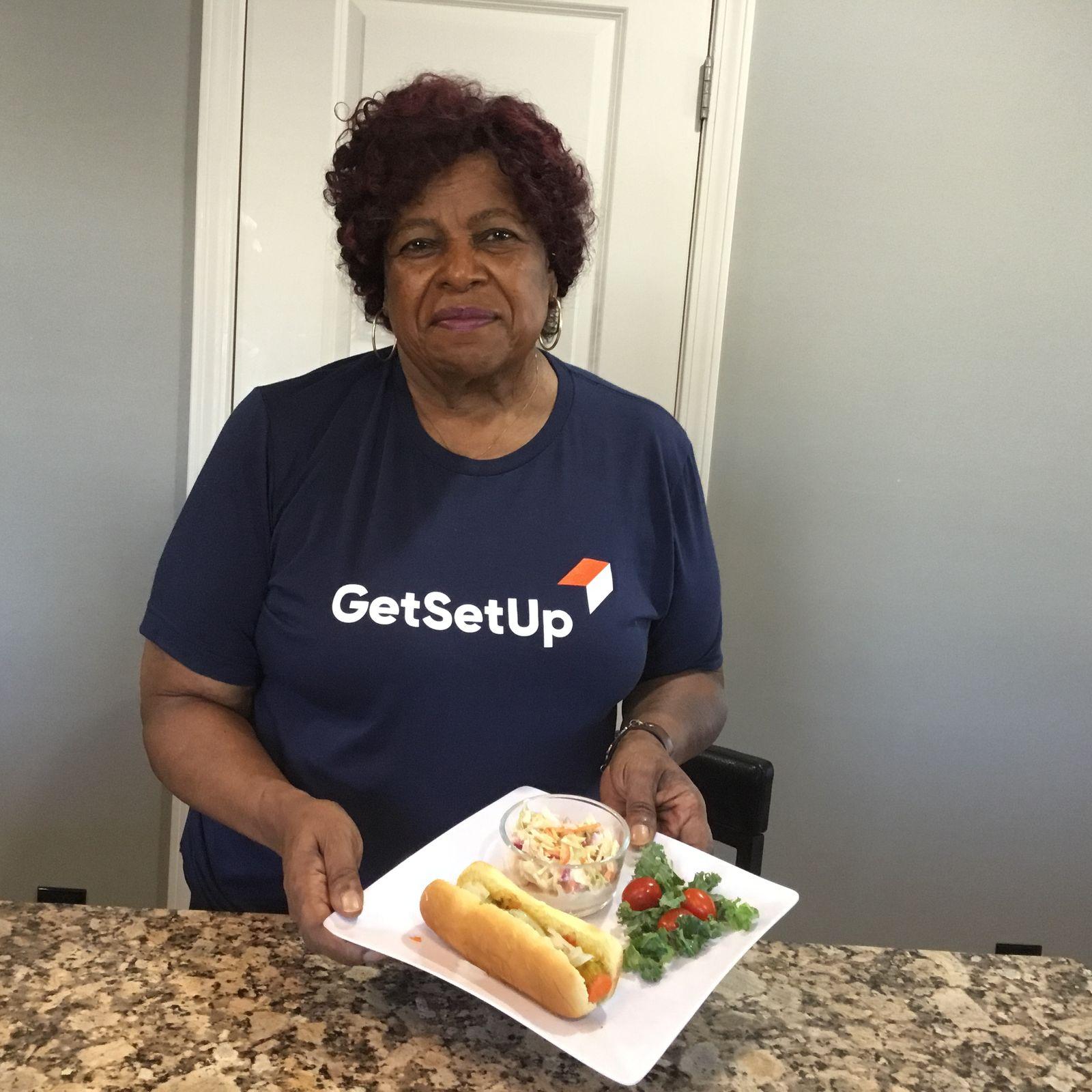 A. Marlene Finds True Heart In Her GetSetUp Community