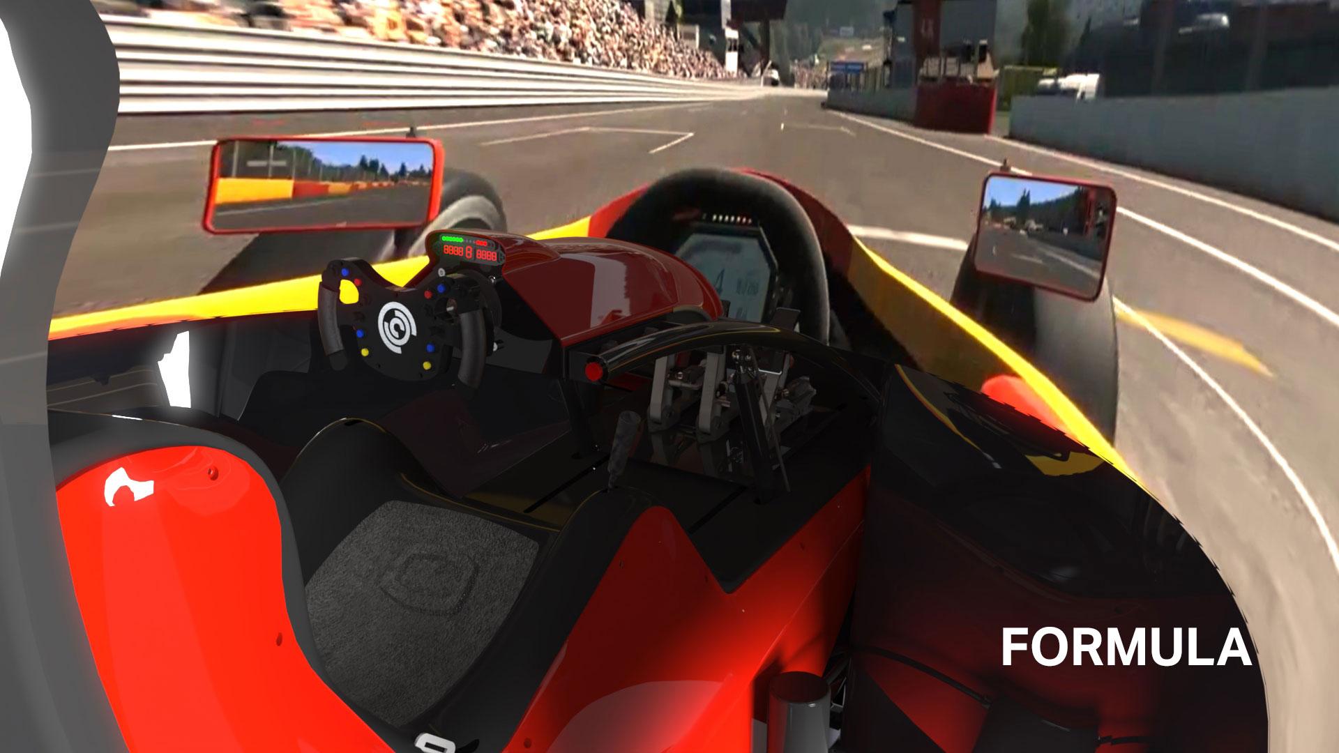 Formula cockpit