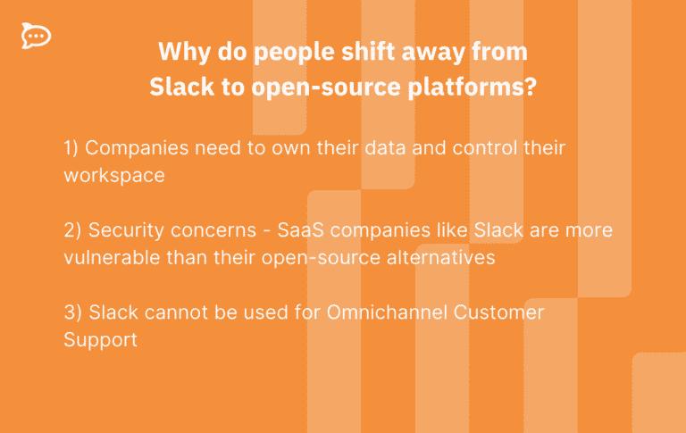 slack open source