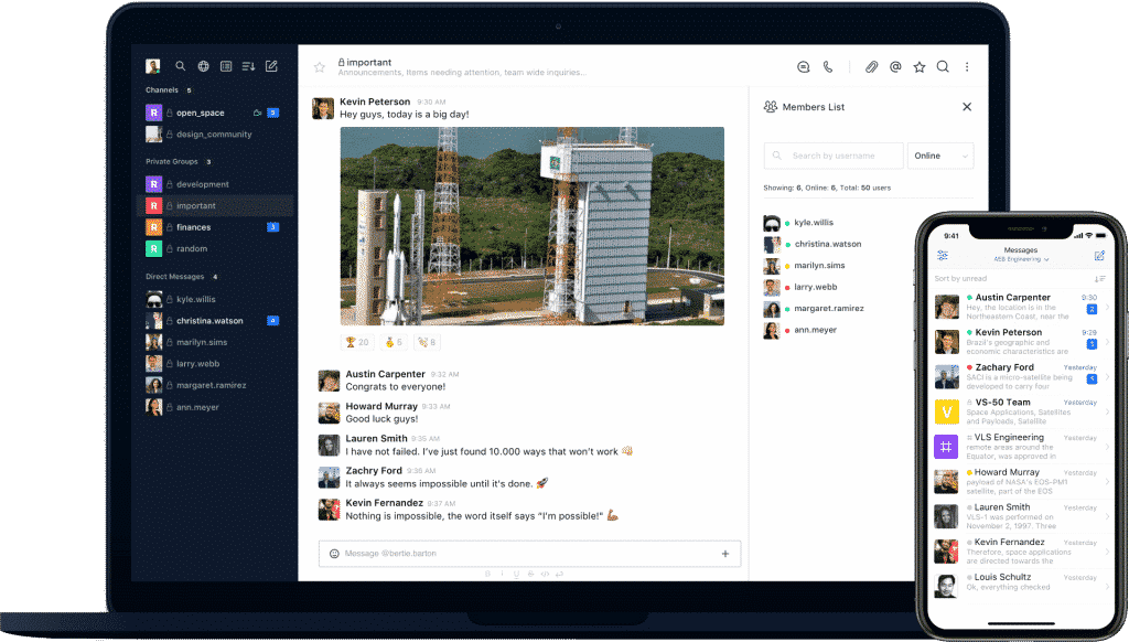 How Rocket.Chat keep the users' data safe