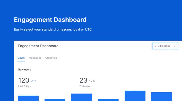 engagement dashboard