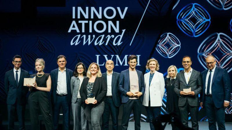 photo des gagnants LVMH Innovation Award