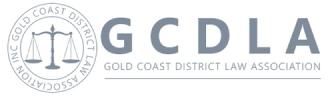 Gold Coast District Law Association Logo