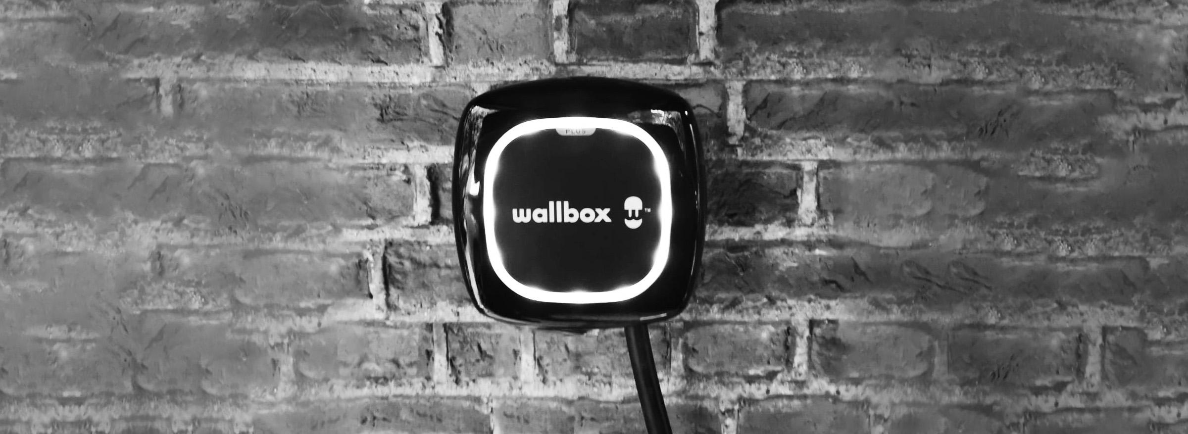 Wallbox op bakstenen muur