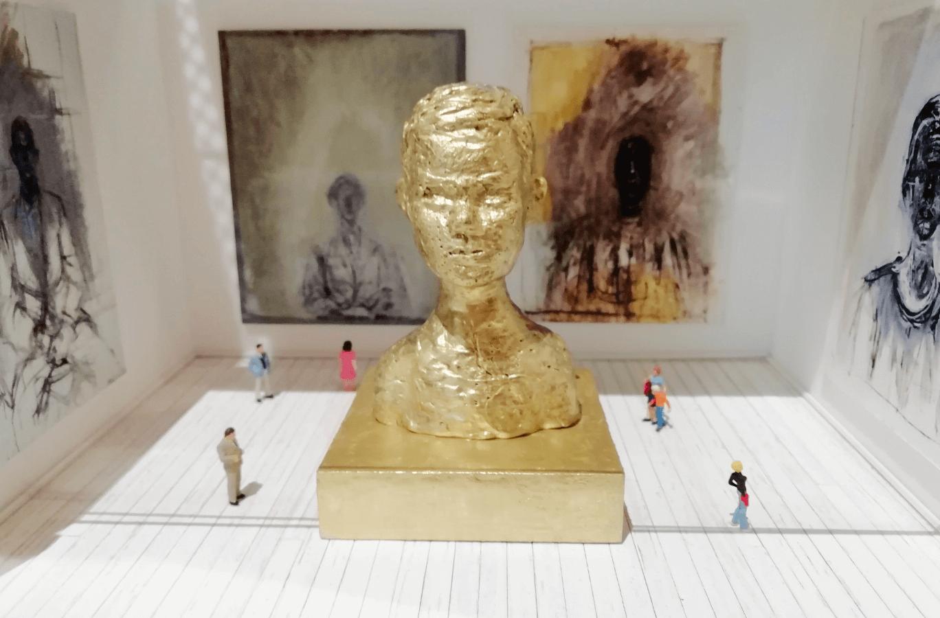 L'exposition de portraits