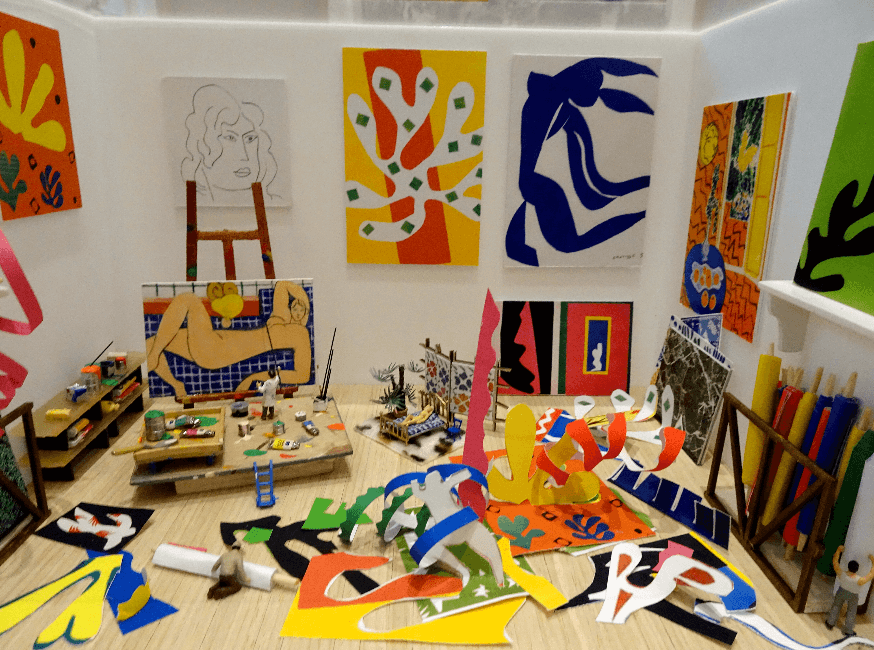 Dans l'atelier de Matisse