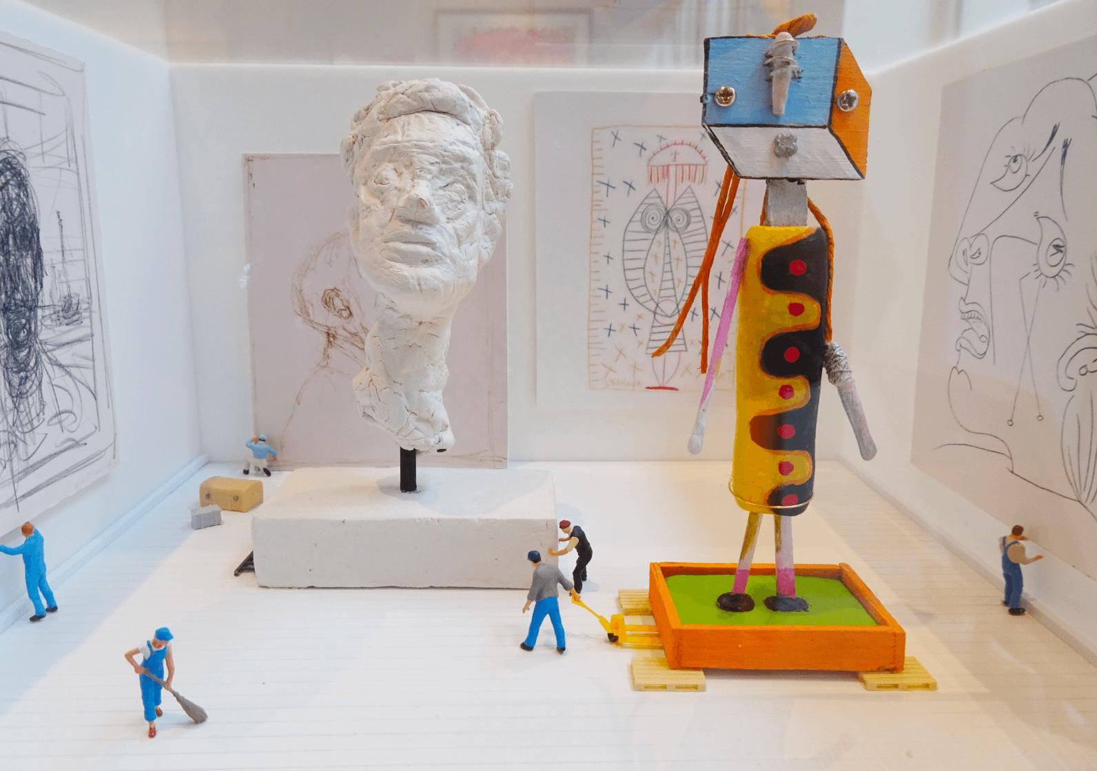 Au musée D'Art Moderne