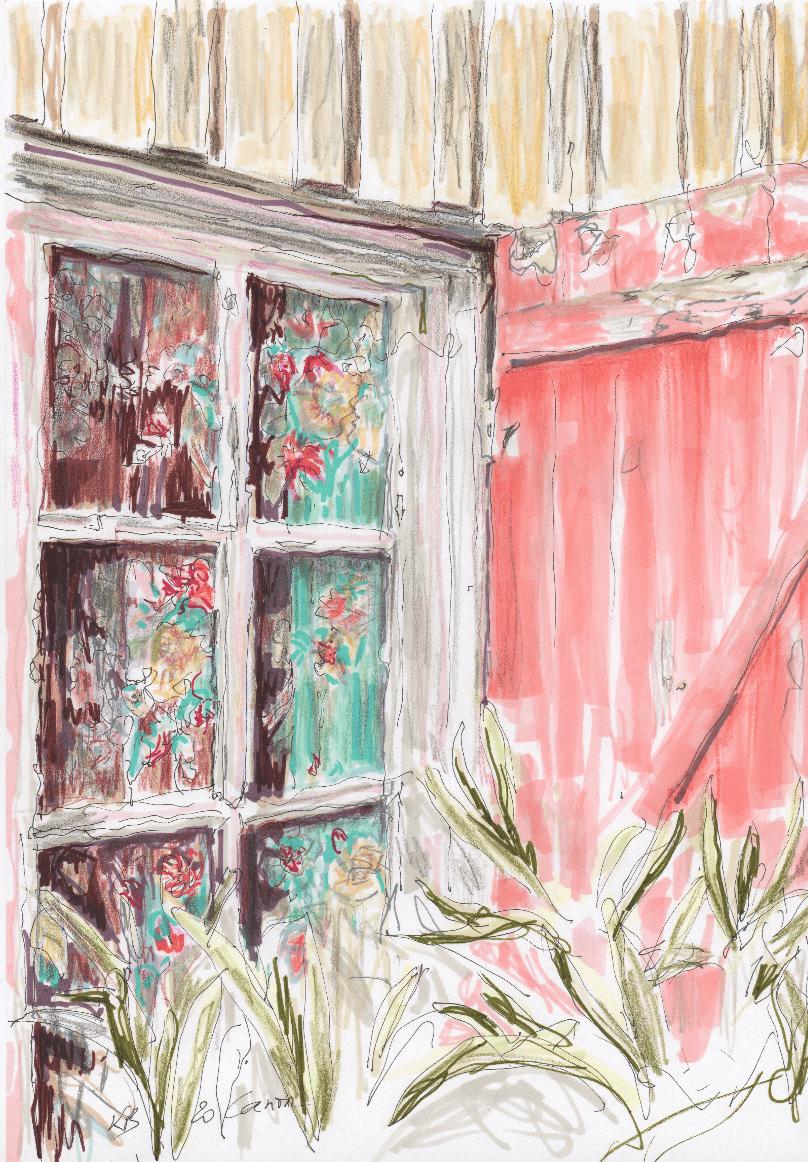 Cap Ferret - La fenêtre