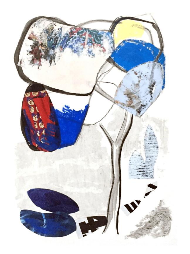 Étude - Petit pin parasol V