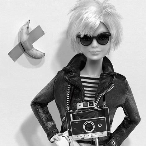 Barbie Andy Warhol at Art Basel 40x30cm Edition of 7 Michel Trehet . . . . . #artbasel #miamiartbasel #andywahrol #affordableartfairbrussels #micheltrehet #galerieisabellelaverny #isabellelavernygallery
