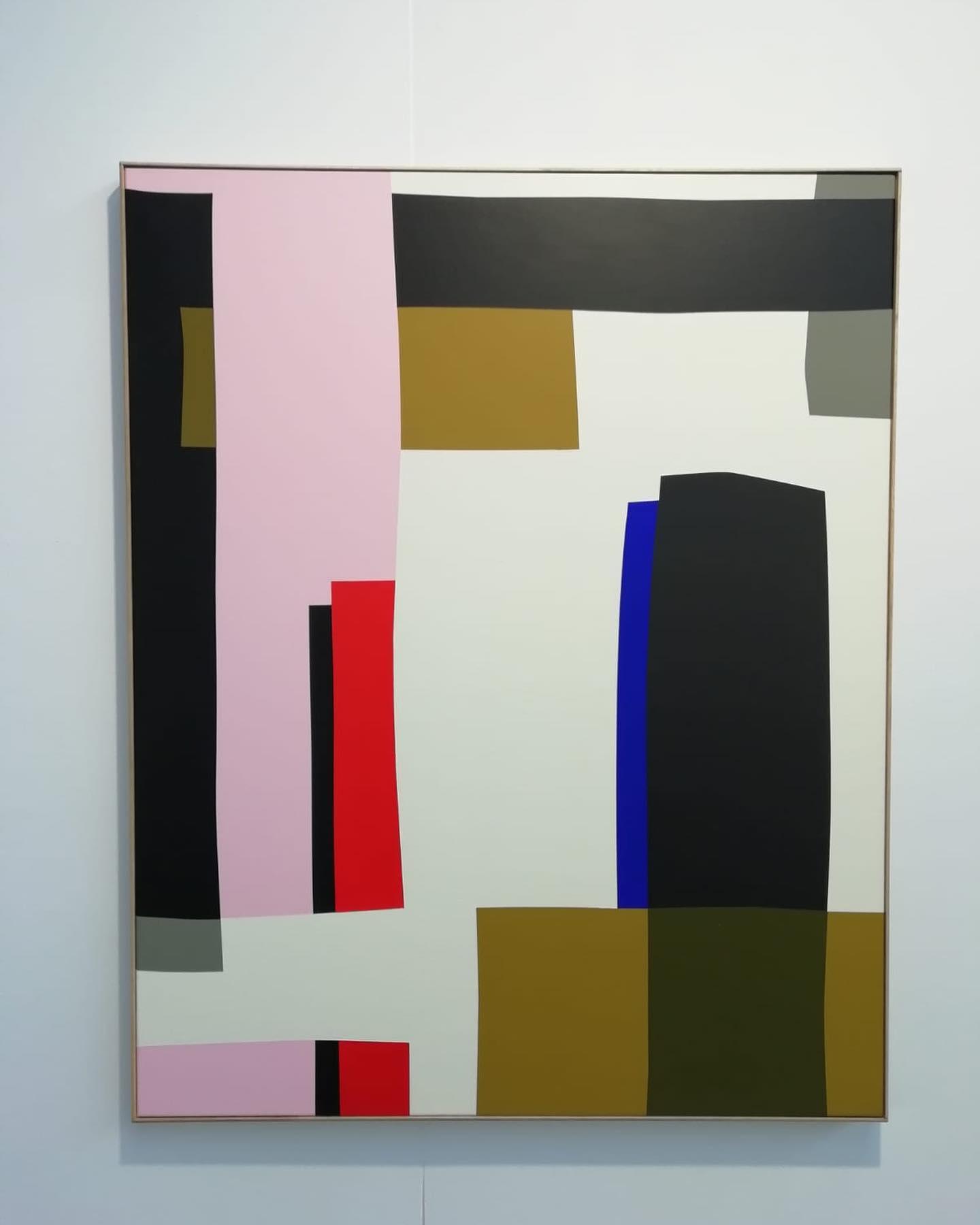 Always friendly neighbours✨ François Bonnel at Macadam Gallery . . . . @macadamgallery @francois_bonnel_artwork  #affordableartfairbrussels #galerieisabellelaverny #isabellelavernygallery