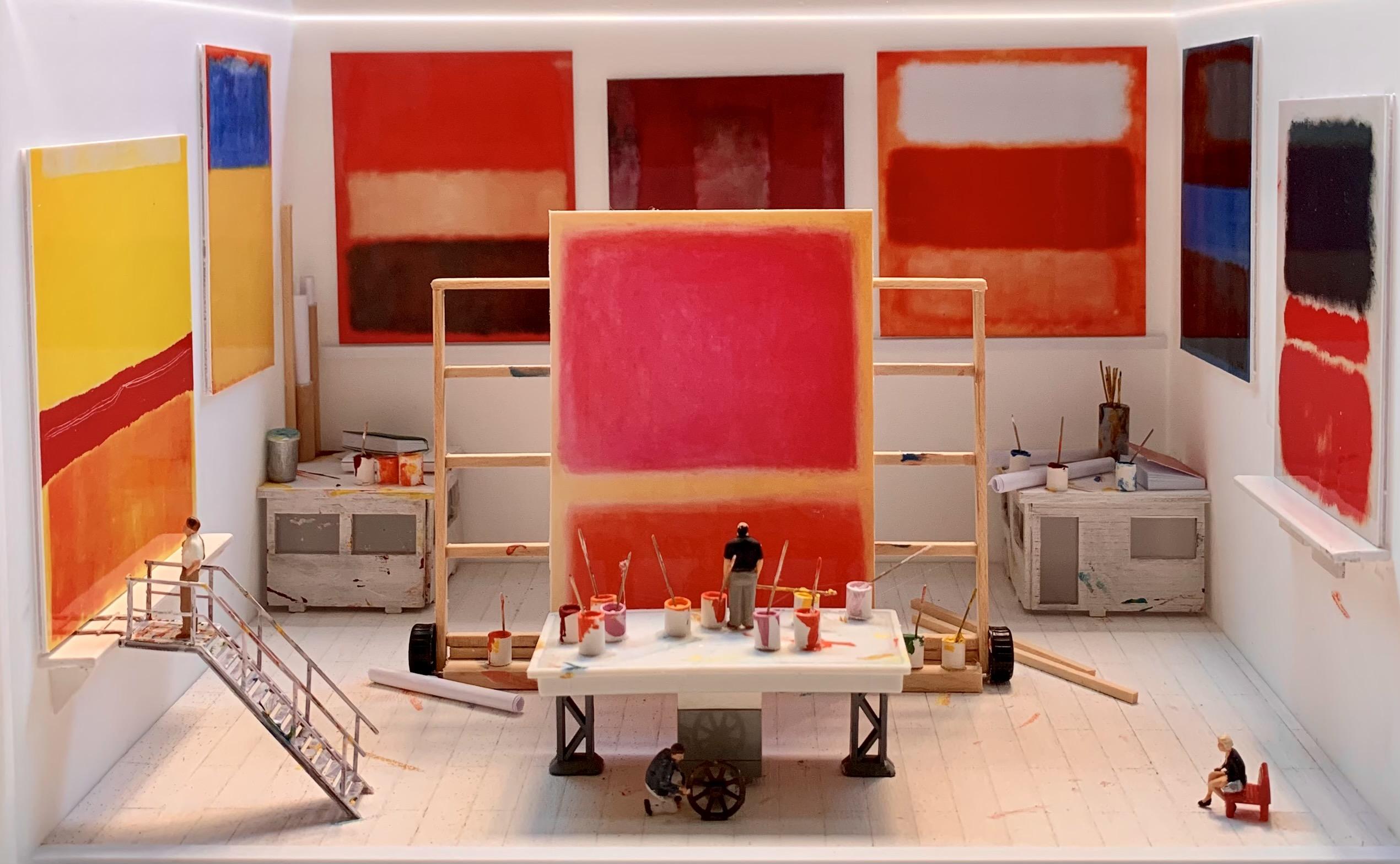Dans l'atelier de Rothko