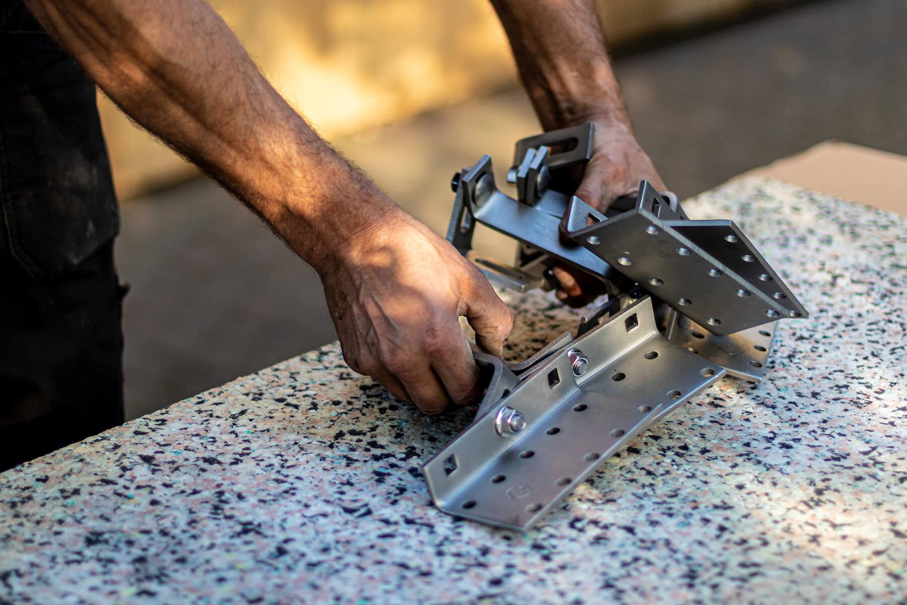 Professionele snij-zaag machine