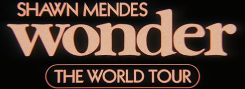 Shawn Mendes Wonder the World Tour logo