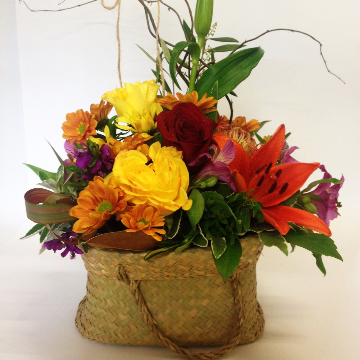 This is our most popular design. Lovely and Bright mix of flowers. #The flower photo is an indication, flowers may change over the seasons.
