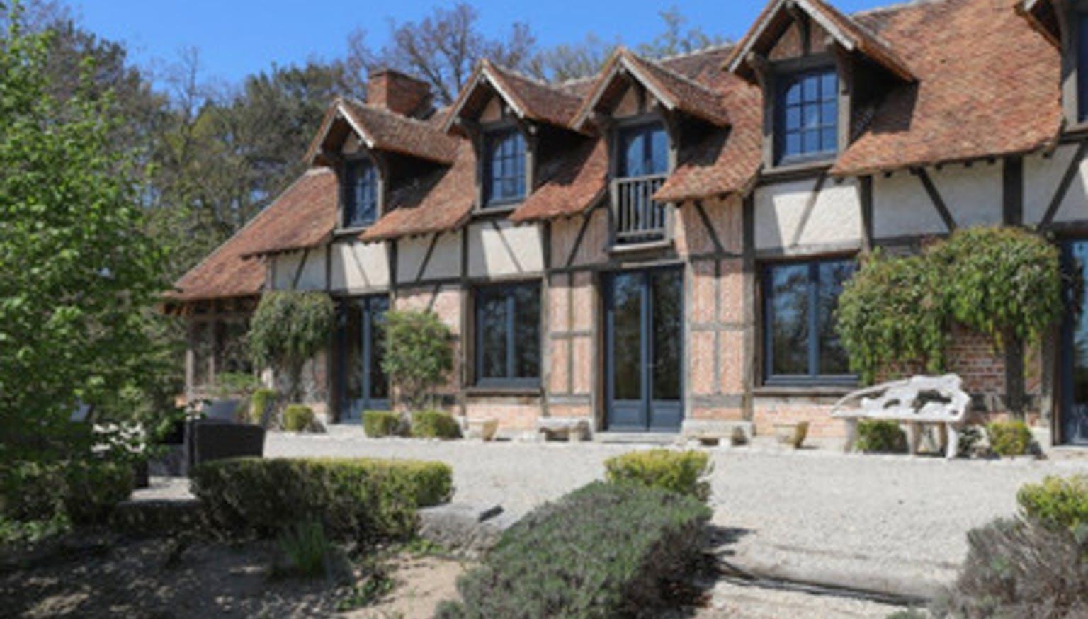 Maison Solognote du 17e siècle Partager