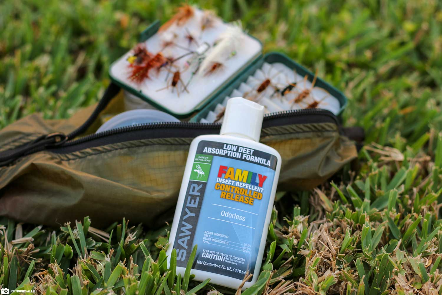 Sawyer Controlled Release Topical Insect Repellent in of Fishing Flies
