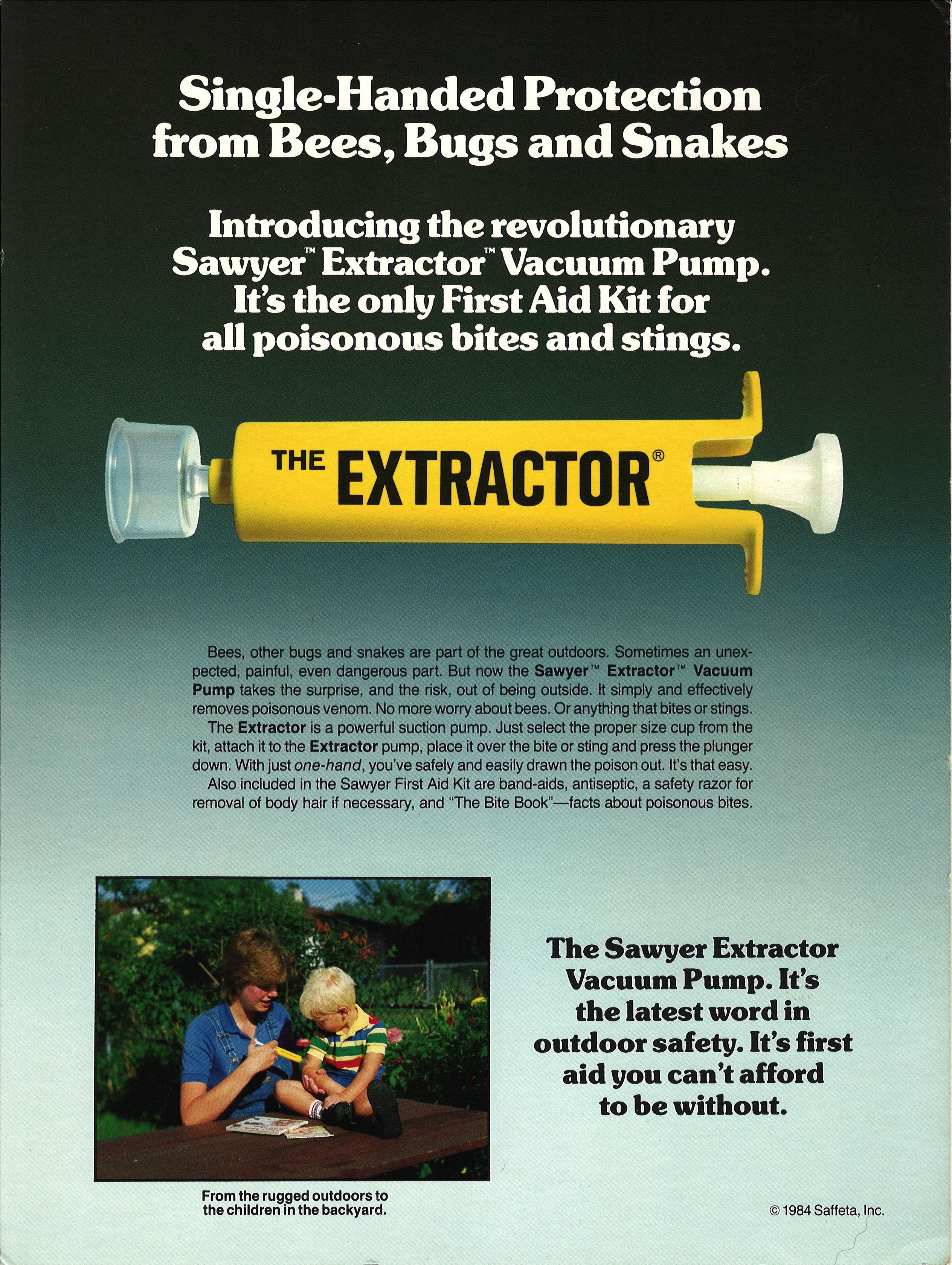 Vintage Extractor Ad 1984